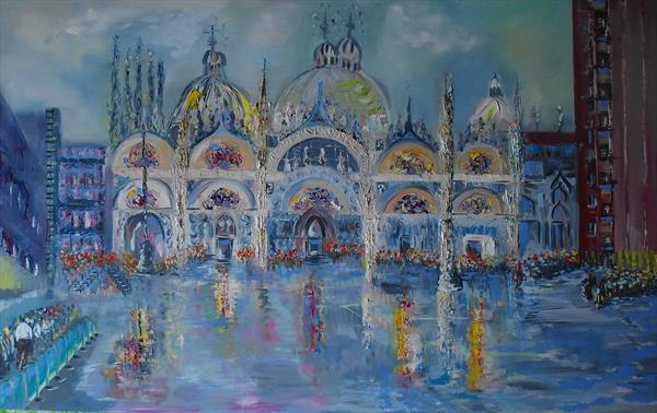 The  Piazza , San Marco