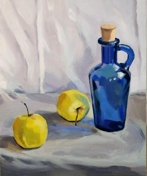Still Life with Apples by Svetlana Gavrisheva