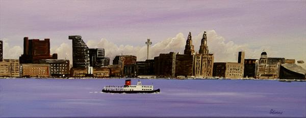 Ferry 'Cross the Mersey by Graham Evans