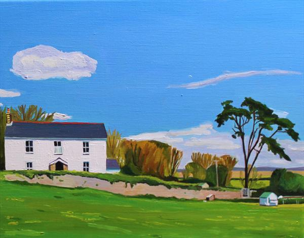 IVY COTTAGE, LANDIMORE by Emma Cownie
