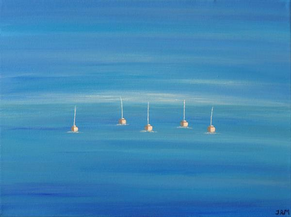 Tranquil Sailing by Jacqueline Moore