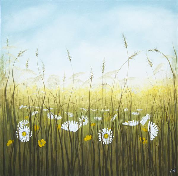 Daisy Meadow by Carol Wood