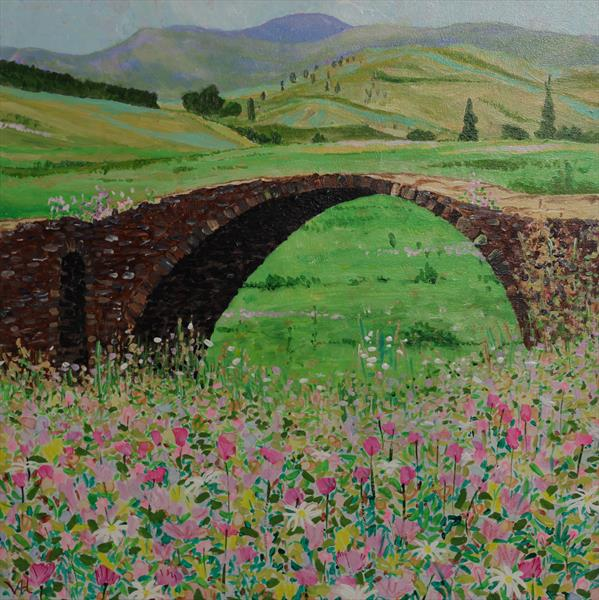 Old Bridge by Veronica  Haldane