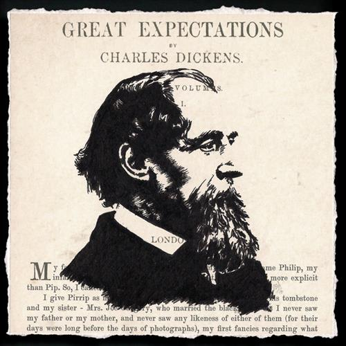 Great Expectations - Charles Dickens (Framed) by Peter Walters
