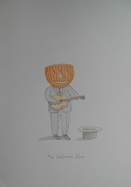 The Halloween Blues by Rodney Rigby