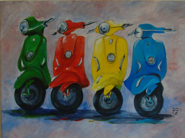 Funky Mopeds  by Super Cosmic