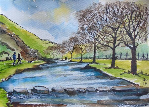 Dovedale Stepping Stones by Super Cosmic
