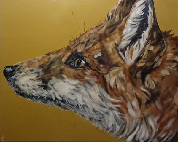 Foxy (on display at The Art Gallery, Tetbury)