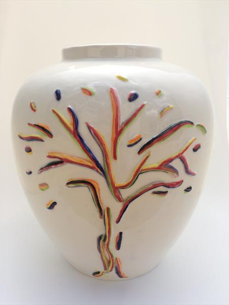 Colour Tree Vase by Julie Anne