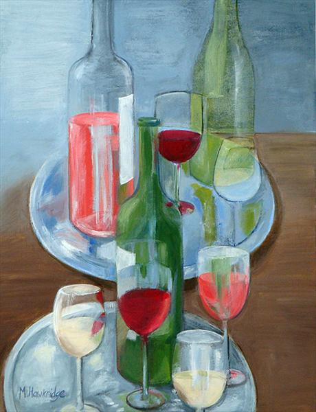 Red, White Or Rose? by Maureen Hawkridge