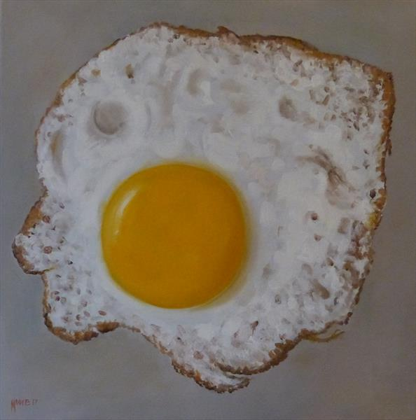 Fried Egg by David Moore