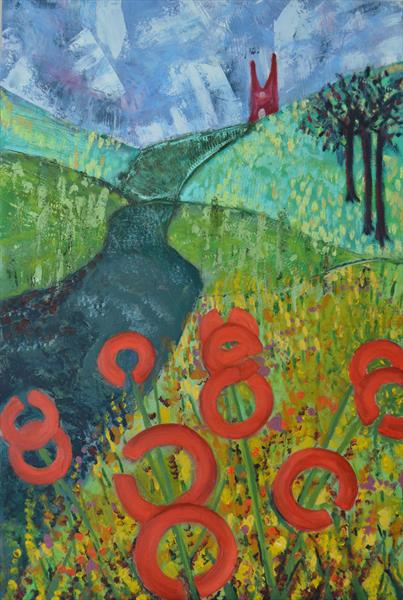 Poppies to the Priory by Melissa Pentney