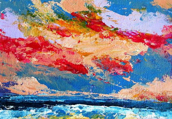 Sunset Two by Ann Whitton