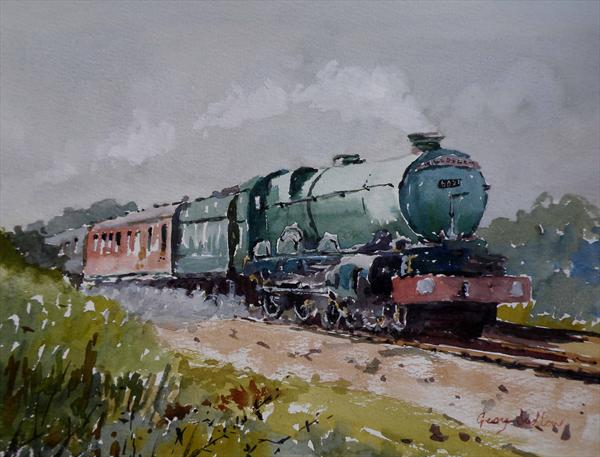 King Edward At Hillsea by Gerry Ludlow