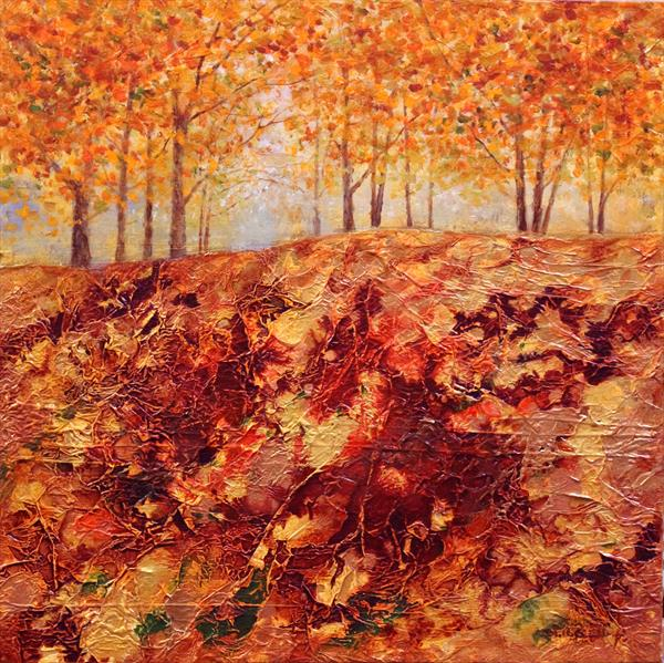 Autumn Hill II by Stella Dunkley