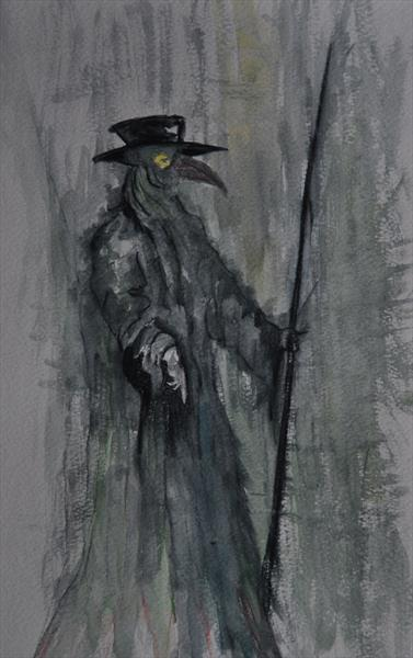 Plague doctor by Steve Gent