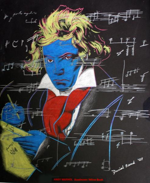 Andy Warhol - Beethoven Yellow Book by Daniel Read