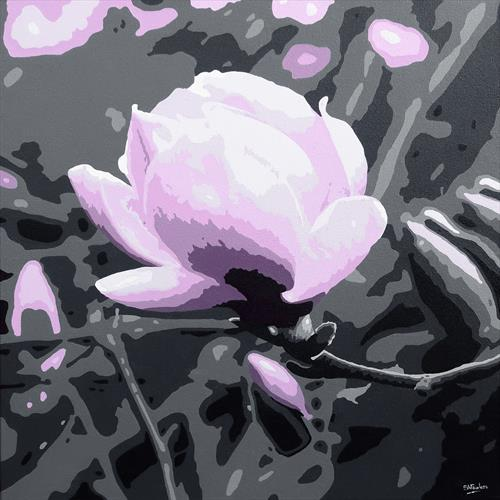 Magenta Magnolia by Simon Fairless