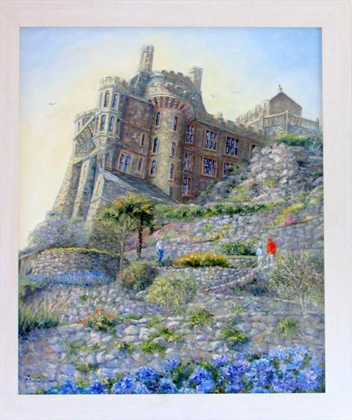Looking Up To The Castle by Patricia Cunningham