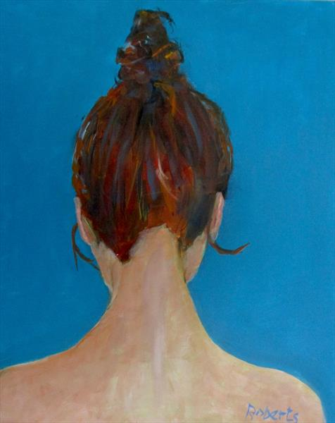 A beautiful head 2 by Rosalind Roberts