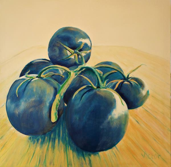 Fruit on the vine 2 by Victor White