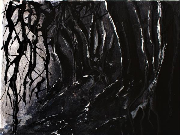 Deep Dark Wood by Georgiana Nicolae