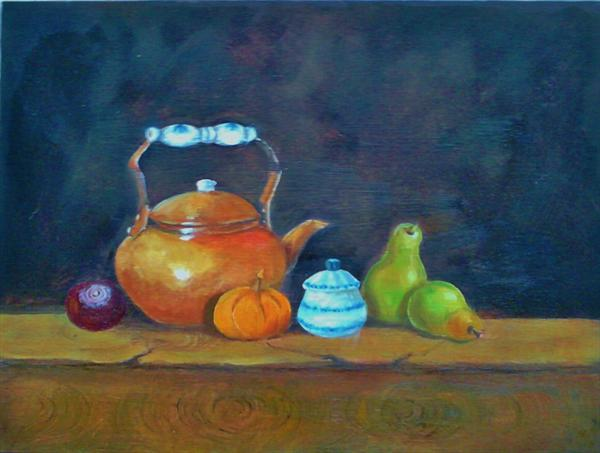 Still Life With Fruit and Veg