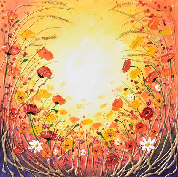 The Sun Shone Brightly - On display with Artgallery at Malvern Theatres by Amanda Dagg