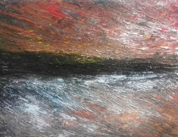 'A Moment in Time' Landscape Abstract 33 by John Dallimore