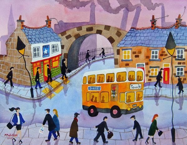 The Manchester Bus by Martin Whittam