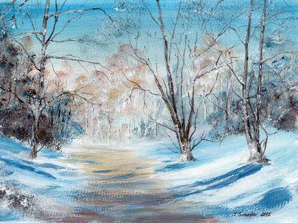 Winter Day by Yulia Schuster