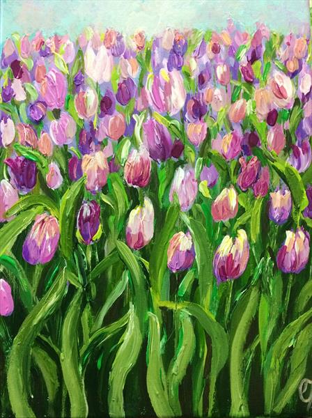 Tulips by Colette Baumback