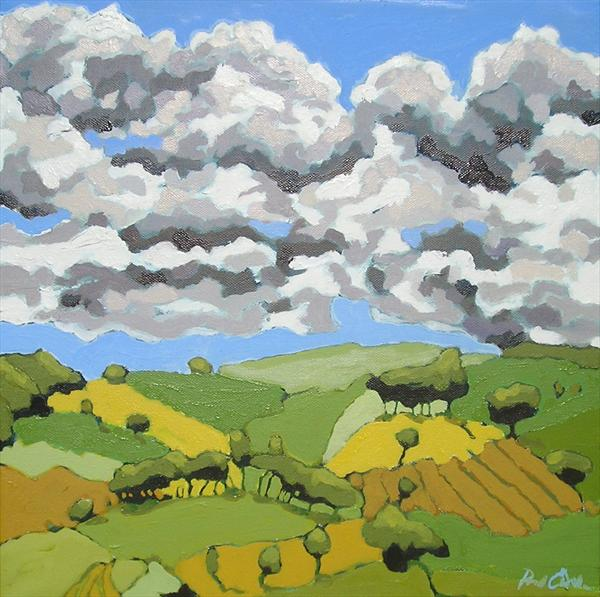 Patchwork Fields by Paul O' Dell