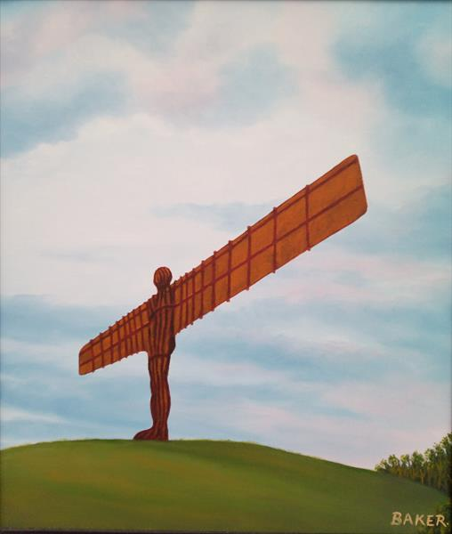 Angel Of the North by Tommy Baker