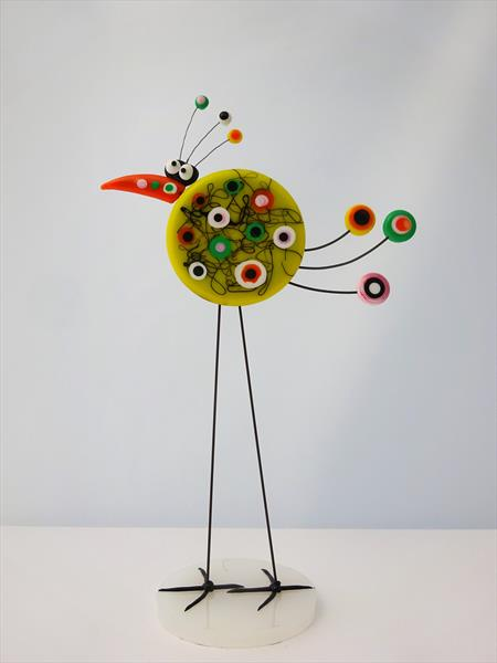 Quirky Bird by Paula Horsley