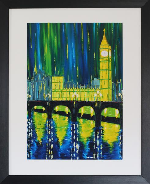 London Limelight - Framed Print by Galina Zimmatore