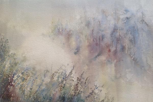Mist On Water by Claire Mawer