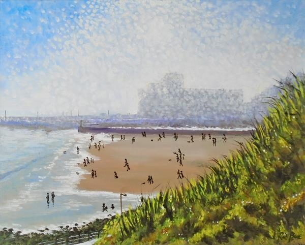 A sunny March day Folkestone by Rod Bere