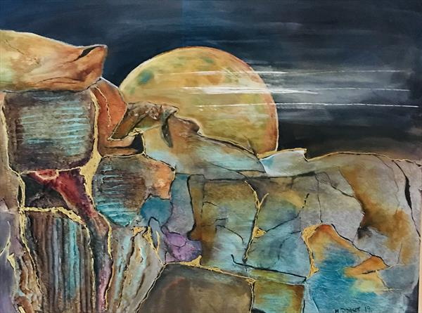 Bad moon Rising  by Marianne  Dorset