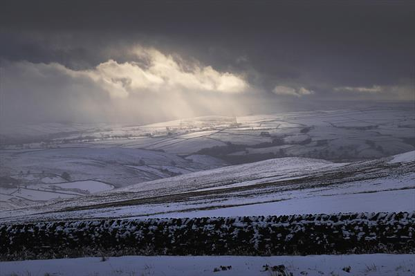 StormLight In The Dales (Ltd Edition of only 20 Fine Art Prints) by Andrew Bret Wallis