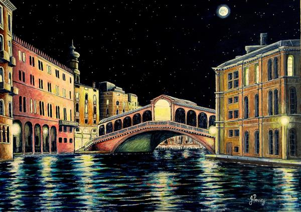 Midnight Venice