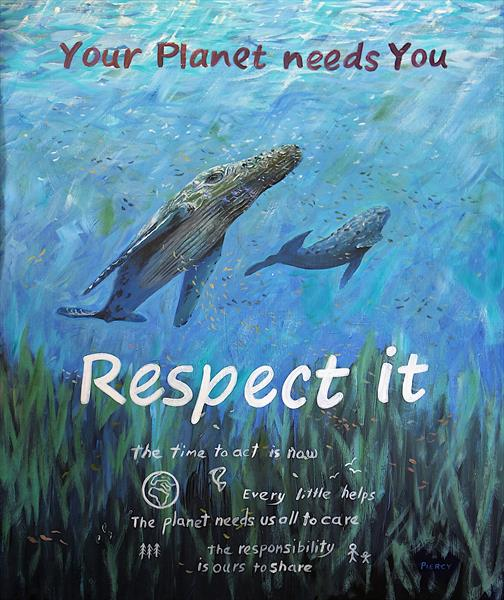 Your Planet Needs You by martin piercy