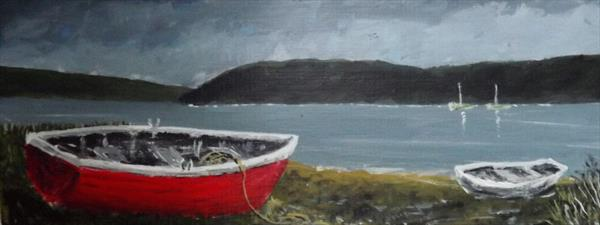 THE RED BOAT  by JOHN MURPHY