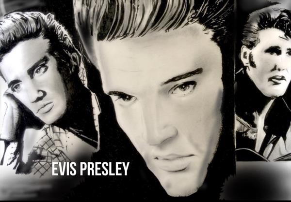 ELVIS by Hanif Saeed