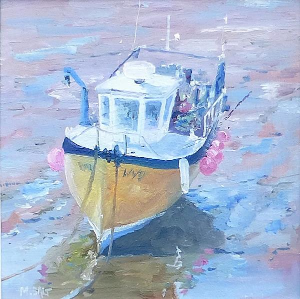 The Yellow Boat by Michael Salt