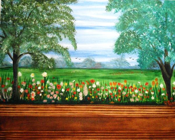 Over the Window Box by Susan Cook