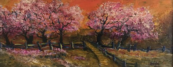 Cherry Trees by Christopher Langley