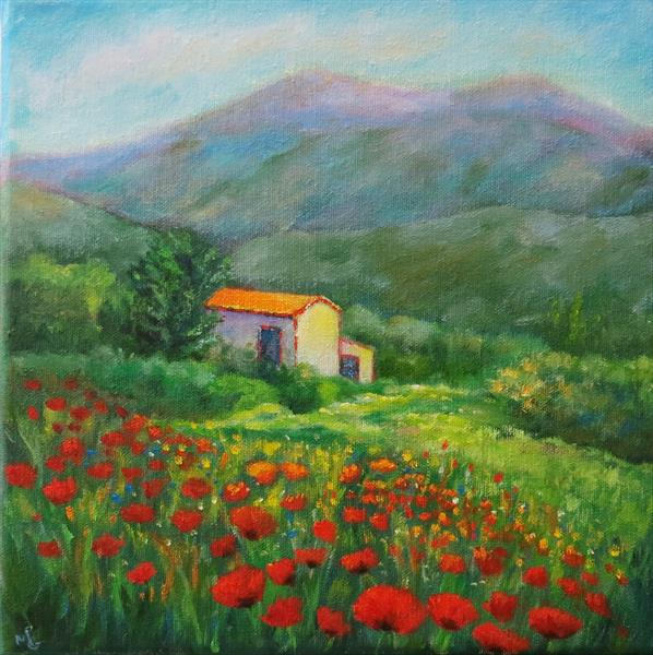 A Cottage in Provence by Maureen Greenwood