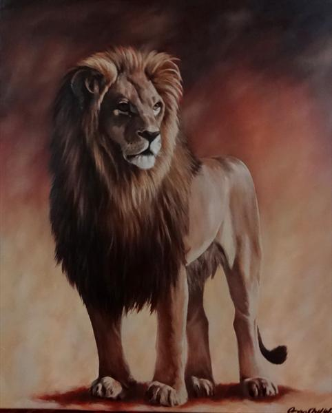 The Lion by Omar Shelleh