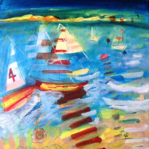 Sail away  by Gwen Fleming